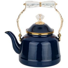 Чайник agness эмалированный со складывающейся ручкой, 2,5л-950-238