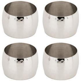 Комплект из 4-х колец для салфеток. латунь (кор=36комп.) диаметр 4,5 см-726-226