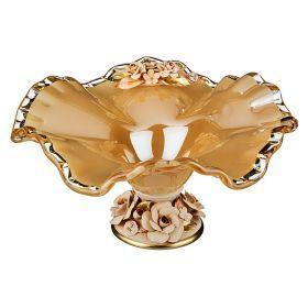 Декоративная чаша 38*37 см.высота=20 см.-647-627