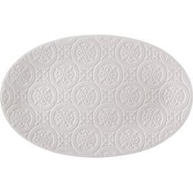 Блюдо овальное 34*21,5 см. без упаковки-367-148