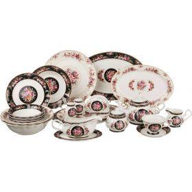 Столово-чайный сервиз на 12 персон 80 пр. 900/200/400/200 мл.-54-343