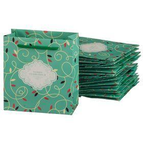Комплект бумажных пакетов из 10 шт. 14*16*7 см.-521-162