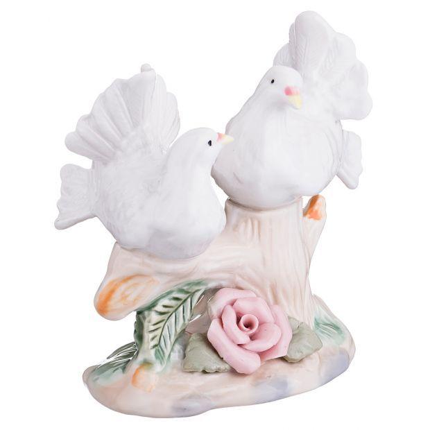 """Фигурка """"голуби на ветке"""" высота=10 см.-180-002"""