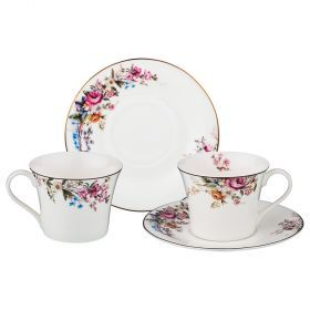 Чайный набор на 2 персоны 4 пр. 200 мл (кор=8набор.)-115-287