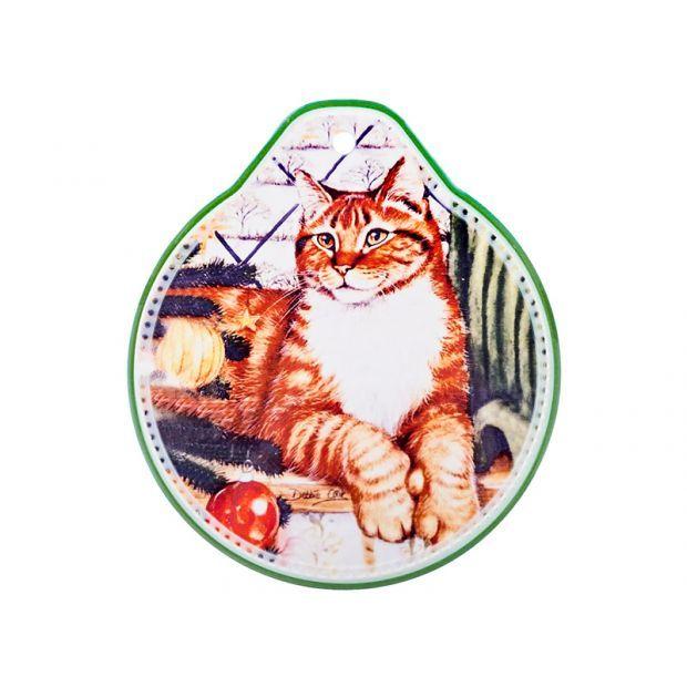"""Подставка под горячее """"кошки"""" 19*22 см.-229-296"""