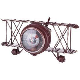 Часы настольные 0*12 см. диаметр циферблата=7 см (кор=12шт.)-799-118