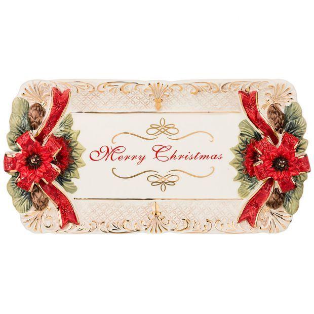 """Блюдо коллекция """"christmas"""" 33*17*5 см-848-006"""