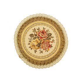 Салфетка декоративная диаметр=32 см.-262-017