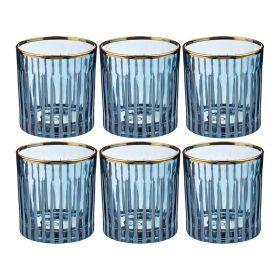 Набор стаканов из 6 шт. 300 мл. высота=9 см.-103-543