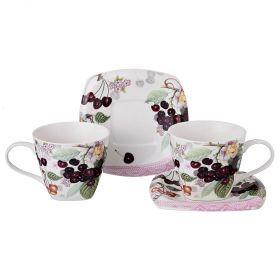 Чайный набор на 2 персоны 4пр. 220 мл.-165-365