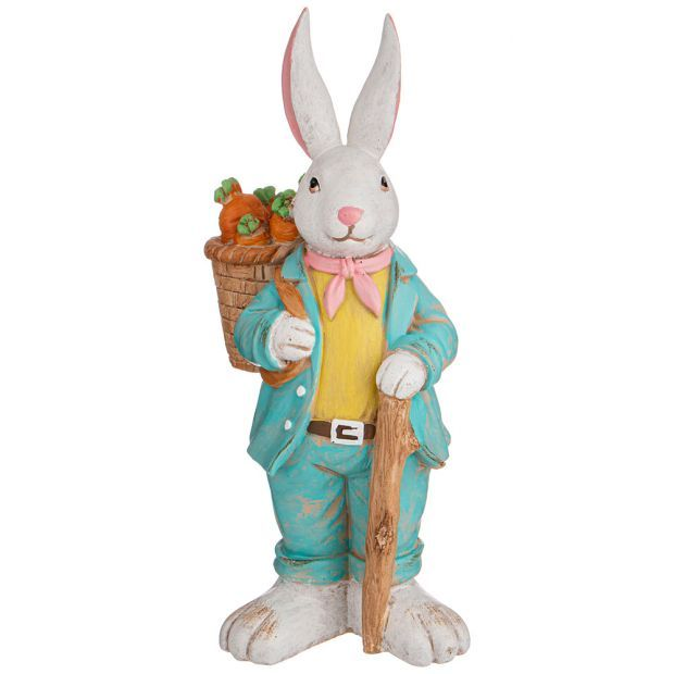 "Фигурка ""пасхальный кролик"" 13*10*33 см. (кор=8шт.)-787-212"