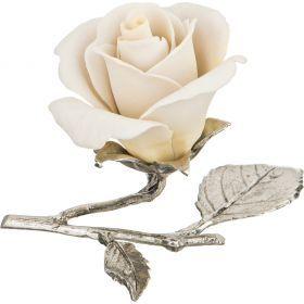 Изделие декоративное роза 10*7 см.высота=9 см.