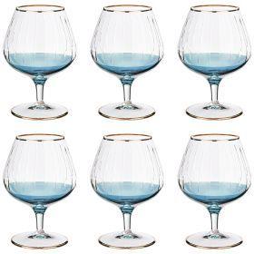 Набор бокалов для коньяка из 6 шт. 350 мл. высота=14 см.-103-591