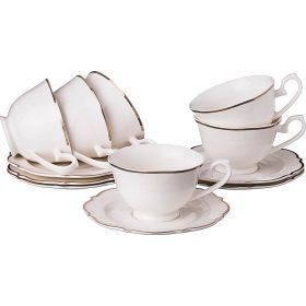 Чайный набор на 6 персон 12 пр.230 мл.-115-283