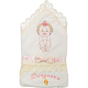 Уголок-полотенце с капюшоном