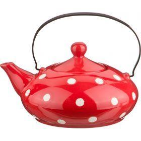 Заварочный чайник с металическим ситом 600 мл.-470-097