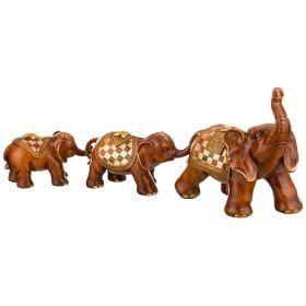 Набор фигурок слонов из 3-х шт.
