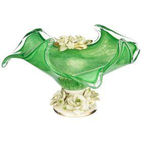 Декоративная чаша 43*33 см.высота=22 см.-647-648