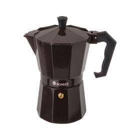 Кофеварка гейзерная, 150 мл на 3 чашки (кор=36шт.)-944-007