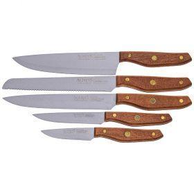 Набор ножей agness, 5 предметов (кор=12набор.)-911-653