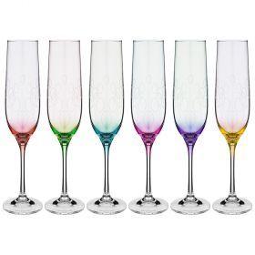Набор бокалов для шампанского из 6 шт. '