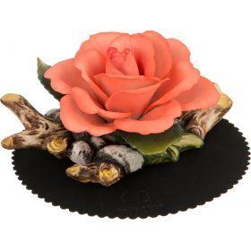 Сувенир роза 15*8 см.высота=11 см.