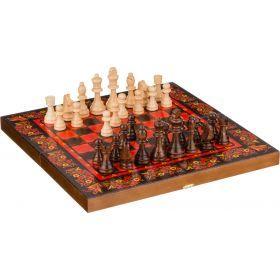 Набор: шахматы-нарды-шашки, средние 3 в 1