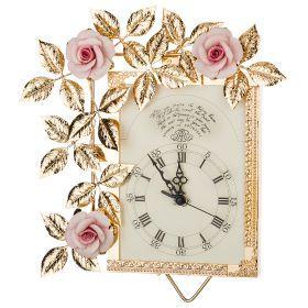 Часы настенные 32*27 см.циферблат 14*14 см.-284-580