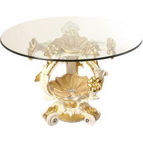Стол+стекло высота=86 см.диаметр=135 см.