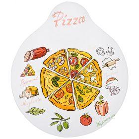 Блюдо для пиццы 19,5*22,5 см-33-140