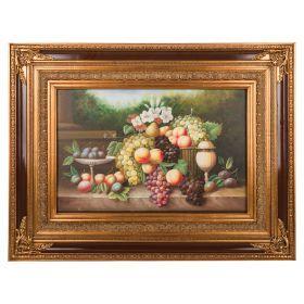 Картина масляная на холсте 90*60 см. багет 134*103 см.-107-1051