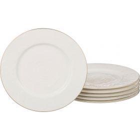 Набор тарелок из 6 шт. диаметр=20,5 см.-361-025