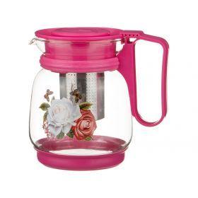 Заварочный чайник с жестким фильтром из нжс 1100 мл.-885-059
