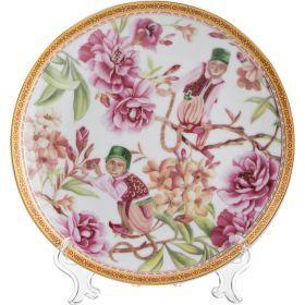 Тарелка настенная декоративная диаметр=20 см. (кор=36шт.)-69-2214