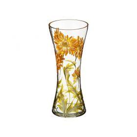 Ваза хризантема желтая талия диаметр=11 см. высота=30 см.