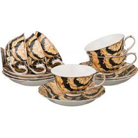 Кофейный набор на 6 персон 12 пр. 150 мл. (кор=12набор.)-760-079