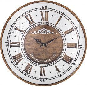 Часы настенные кварцевые 60*60*7,5 см. диаметр циферблата=58 см.-108-101