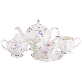 Чайный сервиз на 6 персон 15 пр. 800/200/200/300 мл.-264-789