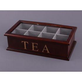 Шкатулка для чая 34*18 см.высота=10 см.