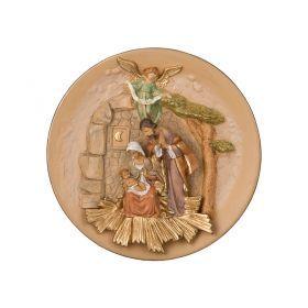 Панно святое семейство диаметр=24 см.