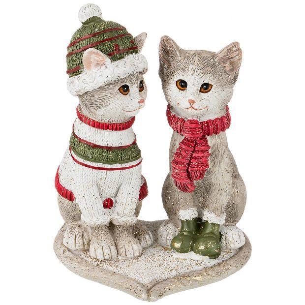 """Фигурка """"merry cats"""" 8*7,5*10,5 см. (кор=48шт.)-162-834"""