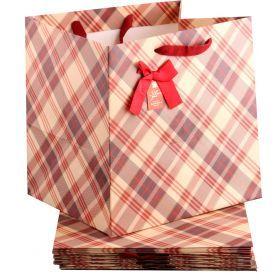Комплект бумажных пакетов из 10 шт.30*30*25 см.-521-094