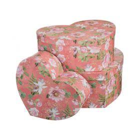 Набор подарочных коробок из 3 шт.39,5*31,5*14,8/33,4*26*12,8/27*20,6*10,8 см.-37-244
