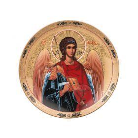 Тарелка настенная декоративная архангел михаил диаметр=18.5 см