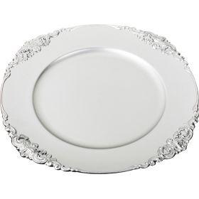 Пластиковая подстановочная тарелка 35,5*35,5*2 см. без упаковки-505-065