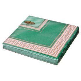 Салфетки бумажные 3-х слойные 33*33 см-423-216