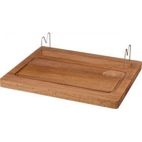 Доска деревянная для шашлыка 36*30 см.-430-162