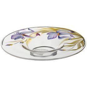 Блюдо ирисавторская роспись  диаметр=40 см