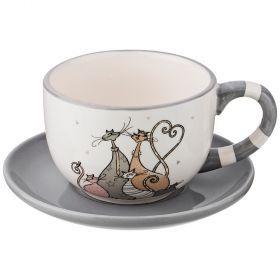 Чашка с блюдцем коллекция