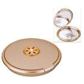 Зеркало карманное диаметр=8 см. высота=1,5 см. увеличение в 5 раз-416-093